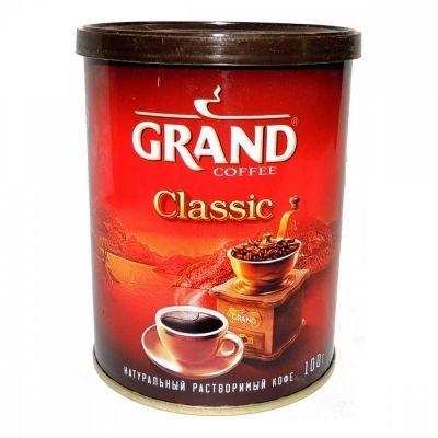 Кофе Grand 'Classic' растворимый ж/б