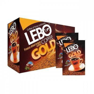 Кофе Lebo 'Gold' растворимый 25 пакетиков
