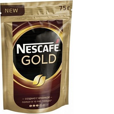 Кофе Nescafe 'Gold' молотый в растворимом