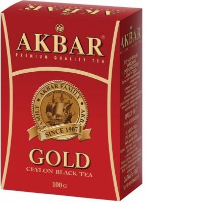 Чай Akbar 'Gold Ceylon' черный листовой