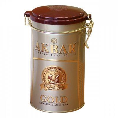 Чай Akbar 'Gold' черный листовой подарочный