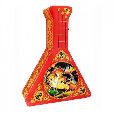 Чай ИМЧ 'Музыкальная балалайка. Красная' чёрный листовой