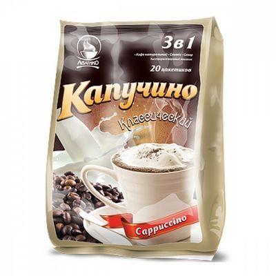Кофе Avatico 'Капучино классический' растворимый 3 в 1 20 сашетов