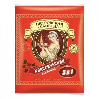 Кофе Петровская Слобода 3 в 1 25 пакетиков