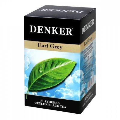 Чай Denker 'Earl Grey' черный с ароматом бергамота 20 пакетиков
