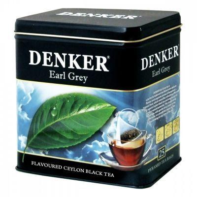 Чай Denker 'Earl Grey' черный с ароматом бергамота 25 пирамидок