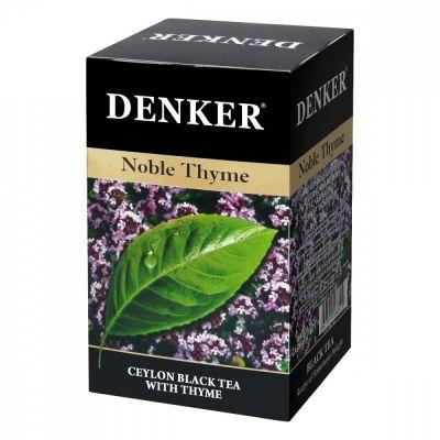 Чай Denker 'Noble Thyme' черный с чабрецом 20 пакетиков