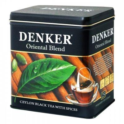 Чай Denker 'Oriental Blend' черный с добавками 25 пирамидок