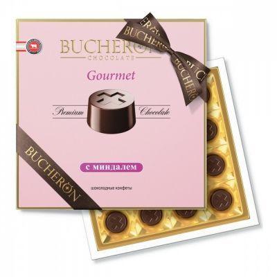 Конфеты Bucheron 'Gourmet' шоколадные с миндалем