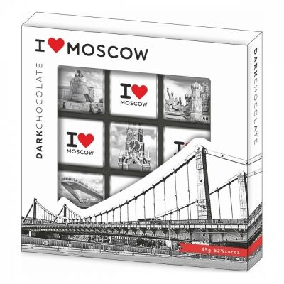 Шоколад Глобус-Про 'МСК - Крымский мост'