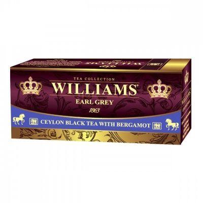 Чай Williams 'Rich Bergamot' черный с добавками 25 пакетиков