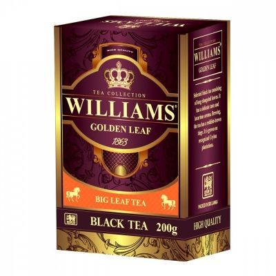 Чай Williams 'Golden Leaf' черный