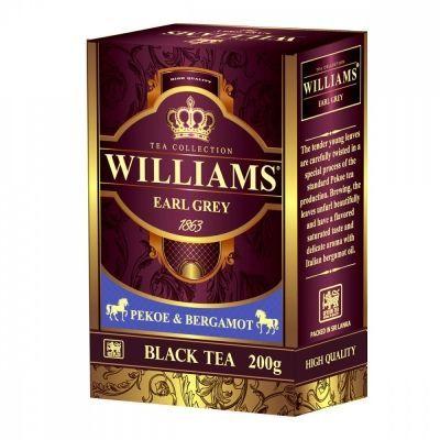 Чай Williams 'Earl Grey' черный с добавками