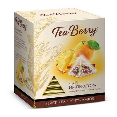 Чай Tea Berry 'Чай Императора' черный с добавками 20 пирамидок
