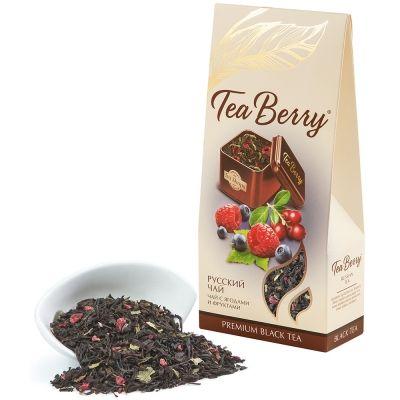 Чай Tea Berry 'Русский чай' черный листовой с добавками