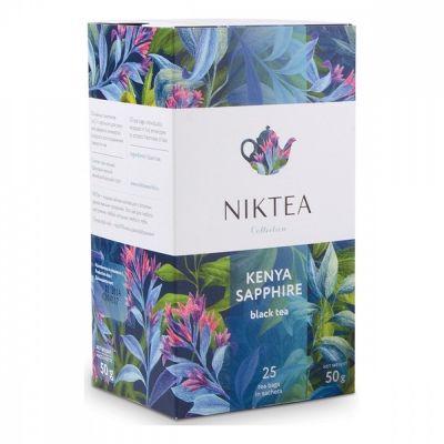 Чай Niktea 'Kenya Sapphire' черный 25 пакетиков