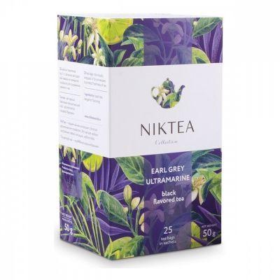 Чай Niktea 'Earl Grey Ultramarine' черный с бергамотом 25 пакетиков