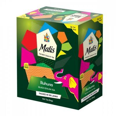 Чай Matis 'Рухуна' черный 100 пакетиков