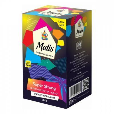 Чай Matis 'Особо крепкий' черный листовой