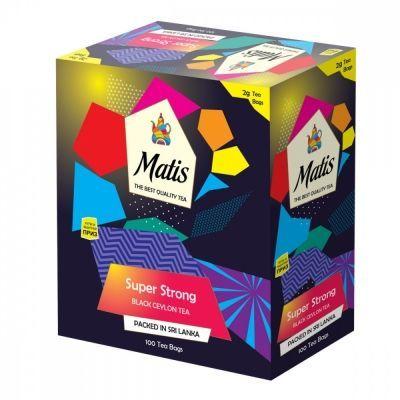 Чай Matis 'Особо крепкий' черный 100 пакетиков