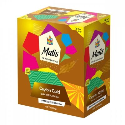 Чай Matis 'Золото Цейлона' черный 100 пакетиков