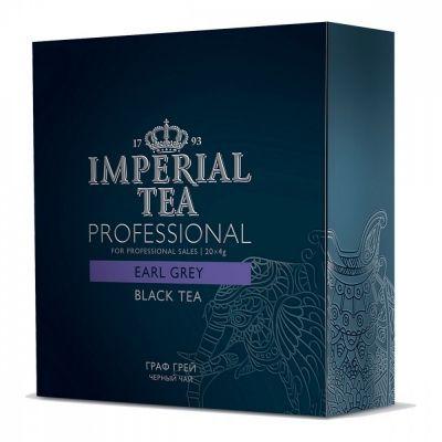 Чай Imperial Tea Professional 'Бергамот' черный с добавками 20 сашетов
