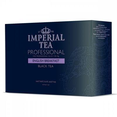 Чай Imperial Tea Professional 'Английский завтрак' черный среднелистовой 20 сашетов