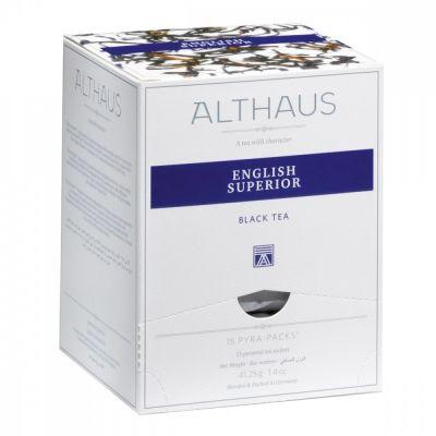Чай Althaus 'English Superior' черный 15 пирамидок
