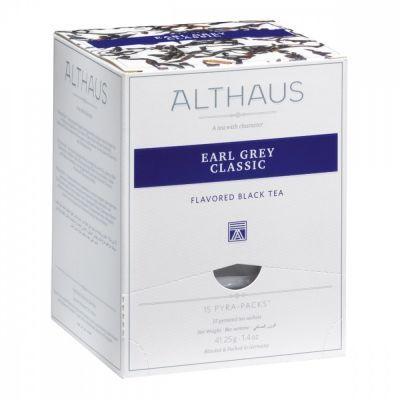 Чай Althaus 'Earl Grey Classic' черный с бергамотом 15 пирамидок