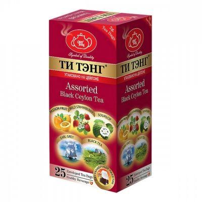 Чай Ти Тэнг 'Фруктовое ассорти' черный 25 пакетиков