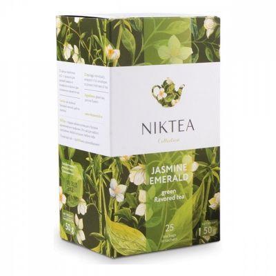 Чай Niktea 'Jasmine Emerald' зеленый с жасмином 25 пакетиков