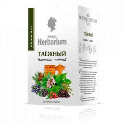 Чай Konigin Herbarium 'Таежный' зеленый с добавками 20 сашетов
