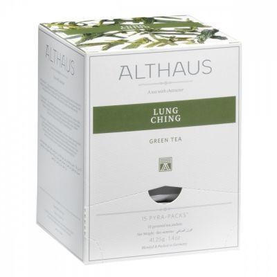 Чай Althaus 'Lung Ching' зеленый 15 пирамидок