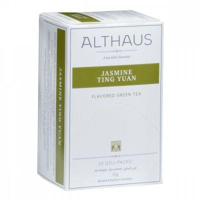 Чай Althaus 'Jasminе Ting Yuan' зеленый с жасмином 20 пакетиков