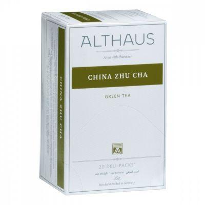 Чай Althaus 'China Zhu Cha' зеленый 20 пакетиковx