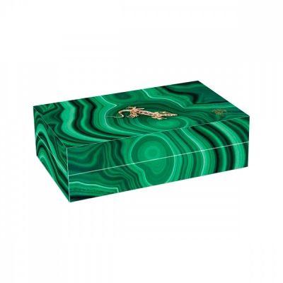 Чай Abigail 'Малахитовая шкатулка' зеленый крупнолистовой Мао Цзянь в шкатулке