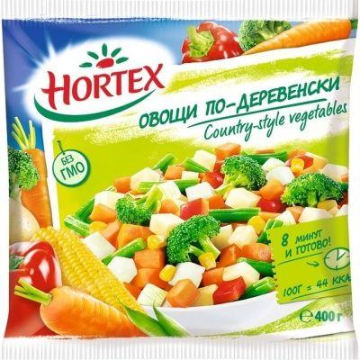 Овощи по-деревенски Hortex замороженные