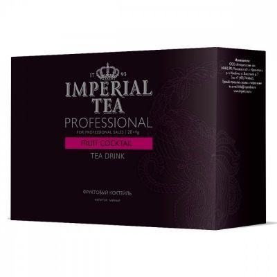 Чай Imperial Tea Professional 'Фруктовый коктейль' каркаде с добавками 20 сашетов