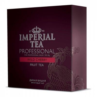 Чай Imperial Tea Professional 'Дикая вишня' каркаде с добавками 20 сашетов