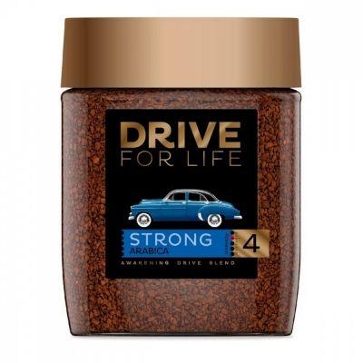 Кофе Drive for Life  'Strong' растворимый