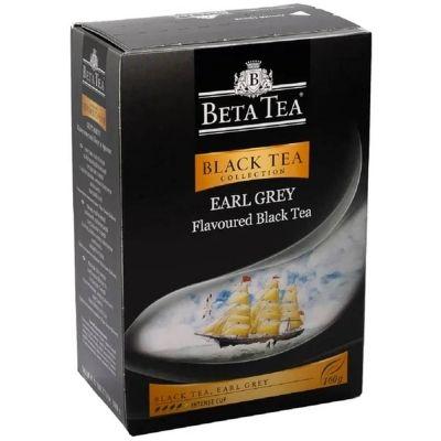 Чай Beta Tea 'Бергамот' чёрный с бергамотом