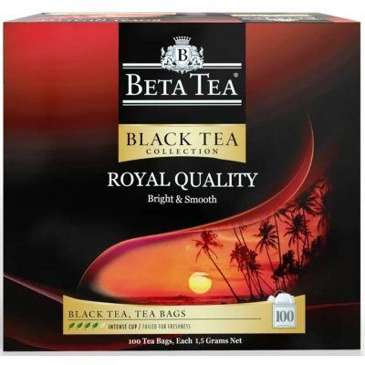Чай Beta Tea 'Королевское качество'  чёрный листовой 100 пакетиков