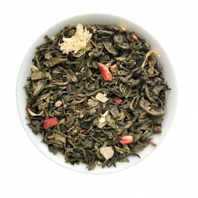Чай Chef Tea зелёный с добавками 'Поцелуй гейши'