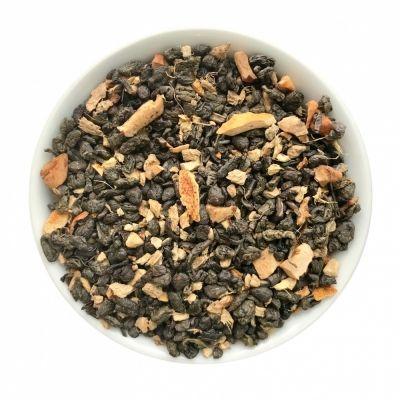Чай Chef Tea зелёный с добавками 'С имбирем и медом'