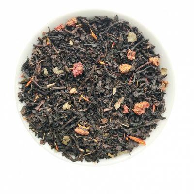 Чай Chef Tea чёрный с добавками 'Земляника со сливками'