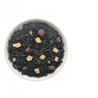 Чай Chef Tea чёрный с добавками 'Клубника со сливками'