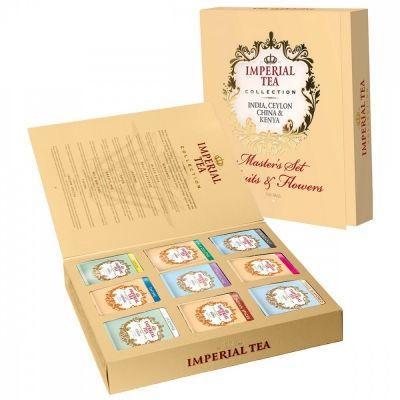 Чай Imperial Tea Collection 'Master's Jet Fruits & Flowers' ассорти 9 видов 90 сашетов
