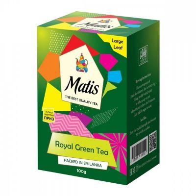 Чай Matis 'Королевский' зелёный