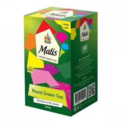 Чай Matis 'Королевский' зелёный листовой