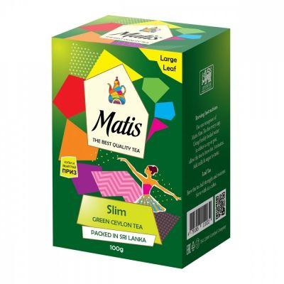 Чай Matis 'Slim' зелёный с добавками